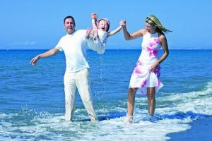 Поездка к морю с ребенком