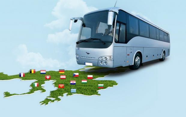 Автобусом по Европе