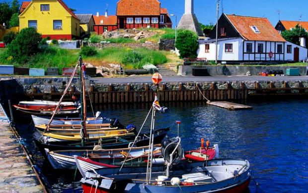 Дания – основные достопримечательности