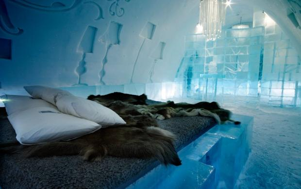 Ледяной отель Ice Hotel, Швеция