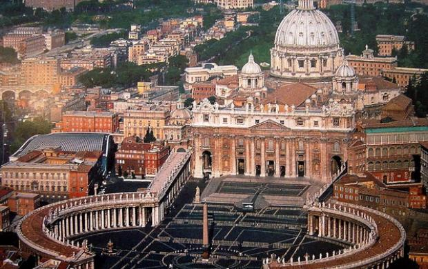 Поездка в Ватикан - государство-музей