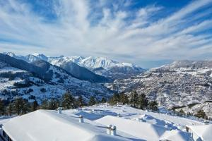 Зимняя Греция: горнолыжные центры, медведи и шубы